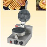 Single Head Waffle Baker Heart Shaped Snack Bar Equipment 390*250*260mm Manufactures