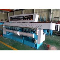 Vertical Furniture Glass Edging Machine Straight Line 9 Spindle full of automatic Manufactures