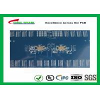 3.8mm 12 Layer Quick Turn PCB Prototypes Blue Solder Mask PCB OEM Manufactures