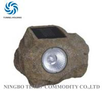 IP65 Waterproof Stone Solar Lights  4500K - 5200K For Lighting Decorative Manufactures