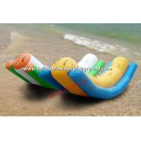 Summer Water Toys Pool Teeter Totter Inflatable Single Rocker Of PVC Tarpaulin Manufactures