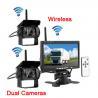 Wireless Vehicle Reversing Systems Vehicle Backup Camera Kit 7 Inch 420 TVL Manufactures