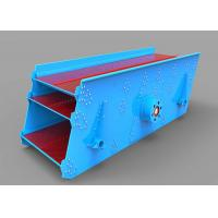 15 Kw Round Mining Vibrating Screen Equipped With Splash Lubrication Exciter Manufactures