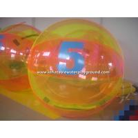 PVC Green / Pink Inflatable Water Walking Ball For Adults And Kids Manufactures
