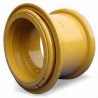 Light-duty Utility Engineering Wheel Rims with ISO/TS16949 Mark, Made of Steel, Comes in Yellow Manufactures