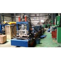 Steel Frame C Z Purlin Roll Forming Machine With 11.5kw Motor And Automatical Cutting Devices Manufactures