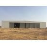 Light Metal Frame Structure Steel Structure Hangar With Sliding Door Manufactures