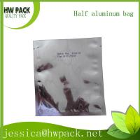 half aluminum foil static shielding bag for electronics products Manufactures