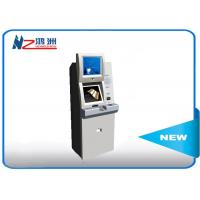 19 Inch Automatic Self Service Card Dispenser Kiosk With Coin Counter Manufactures