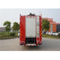 MAN Chassis Fire Engine Vehicle With Wonderful Rail System Performance Manufactures