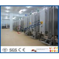 2TPH 5TPH Energy Drink Beverage Production Line With Beverage Filling Equipment Manufactures