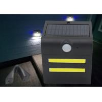 Small Size 1.5W LED Solar Motion Light Warm / Red / Green / Blue Color Manufactures