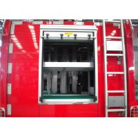 Professional 3 Seat Light Rescue Fire Trucks 139kw With ISUZU Chassis