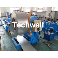 Hydraulic Or Automatic Decoiler Machine With Automatically Uncoiling , Hydraulic Expanding , Tension Manufactures