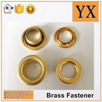 China factory price Oval Brass Eyelets and Grommets High Quality Brass Eyelets for tent Manufactures