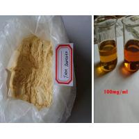 Androgenic Anabolic Steroids Yellow Trenbolone Acetate Powder For Muscle Building Manufactures