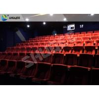 Playground Indoor Movie Theater Sound Vibration 4D Cinema Equipment With 500 Films Manufactures