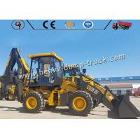 65kw 2.5 Ton Small Size Backhoe Wheel Loader Excavator With Yuchai Engine Manufactures