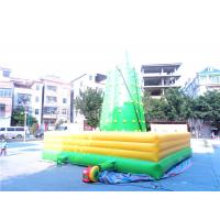 Green Home Climbing Wall , PVC Tarpaulin Rock Climbing Wall For Kids Manufactures