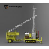 China 23.5kw Engine Drill Rig Machine Self - Propelled With Full Hydraulic Core on sale