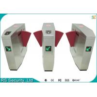 Quality Metro Security Flap Gate Barrier With Single Or Multiple Wide Lane Access for sale