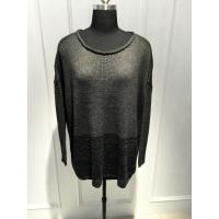 Raw Edge Wool Acrylic Batwing Long Sleeve Loose Knit Sweater 15JT001 Manufactures