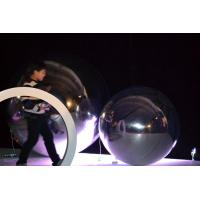Fancy 0.3mm PVC Round Balloons Inflatable Garden Mirror Ball Custom Made Manufactures