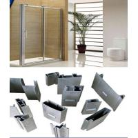 Alloy 6000 T3- T8 Silver Polished Aluminium Extrusion Profiles For Shower Room Applicaton Manufactures