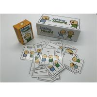 Funniest Party Joking Hazard Card Game OEM / ODM Welcome Beautiful Design Manufactures