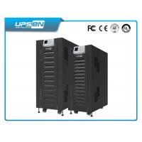 Black Low Frequency Online Ups Uninterruptible Power Supply Three Phase Input And Three Phase Output Manufactures