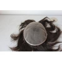 Fashionable Wholesale Price Human Hair Lace Wig Men Use Toupee Manufactures