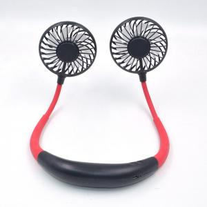 Sports Foldable Led Light Rechargeable Neckband Fan 3hr Charging Manufactures