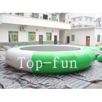 Quality Funny Inflatable Rrampoline Amazing PVC Inflatable Water Parks For Kids and Adults for sale