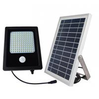 High Output  Solar Powered Flood Lights , 120 LED Solar PIR Security Light Manufactures
