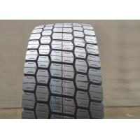 China Block Pattern 12R22.5 Commercial Truck Tires , Wide Truck Tires 22 Inch Rim Dia on sale