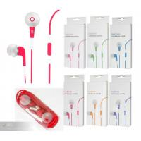 Red Stereo Earphone Replacement with Silicon Case for  IPhone Manufactures