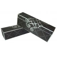 Quality Custom Black Corrugated Paper Gift Box hot silver stamping Corrugated Box for sale