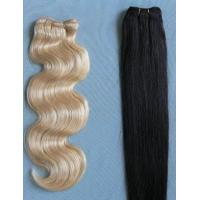 Machine Made Hair Weft Manufactures