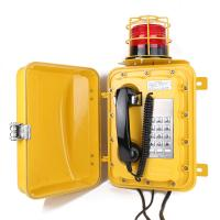 heavy duty waterproof telephone with isolation barrier industrial telephone JWAT303 Manufactures