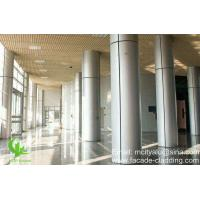 Customized Aluminum Column Covers ,  Hotel Lobby Station Aluminum Post Covers Manufactures