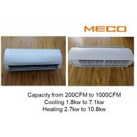 Apartment High Wall Fan Coil Unit 200CFM With Wireless Remote Controller Manufactures
