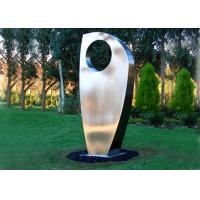 Contemporary Metal Yard Art Stainless Steel Sculpture For Garden Decoration Manufactures