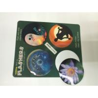 Morph Effct 3D 0.45MM PP Lenticular custom 3d stickers With Offset Printing For Kids Manufactures