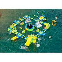 Quality 0.9mm PVC Tarpaulin Giant Inflatable Water Play Equipment Inflatable Water Park for sale