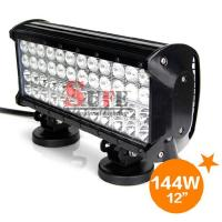 12''144W CREE LED LIGHT BAR COMBO FOR OFFROAD MARINE MILITARY ATV 4x4 SUV DRIVING LIGHT Manufactures