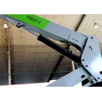 Diesel Drive 27m Telescopic Boom Supported Elevating Work Platforms Manufactures
