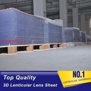 3D injekt print 75LPI 0.45mm Lenticular Lens Sheet material with good Lenticular Printing Effect Manufactures