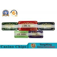 High - End 760PCS Casino Poker Chip Set With Aluminum Box Eco - Friendly Manufactures