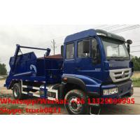 SINO TRUK HOWO 4*2 RHD 266HP 10-12m3 container lifter rubbish truck for sale in Sri Lanka, wastes collecting vehicle Manufactures