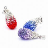 Crystal Pendants, Customized Sizes Available Manufactures